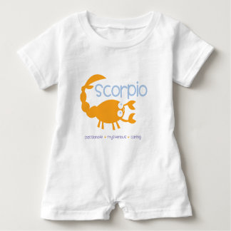 Scorpio Baby Romper