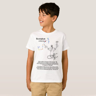 Scorpio Christian Prophecy T-shirt (kids)