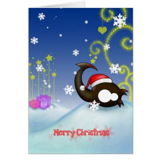 Scorpio Christmas card