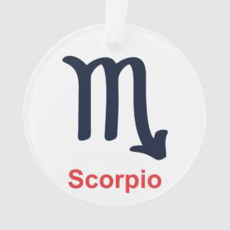 Scorpio Christmas Ornament