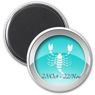 Scorpio Dates Magnet