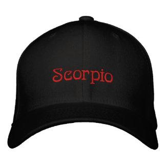 SCORPIO EMBROIDERED BASEBALL CAP