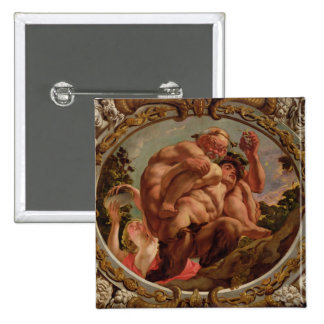 Scorpio, from the Signs of the Zodiac 2 Inch Square Button