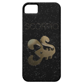 Scorpio golden sign iPhone 5 cases