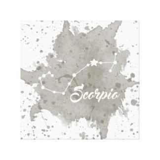 Scorpio Gray Wall Art