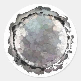 Scorpio Grey Moon Sticker