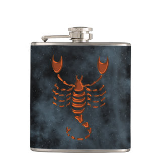 Scorpio Hip Flask