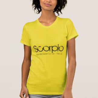 Scorpio Horoscope T-shirt November Birthday Tee