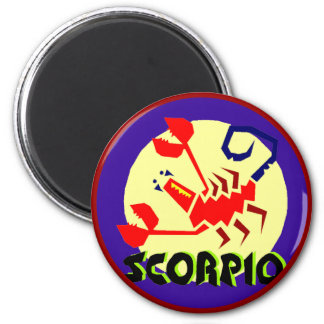 Scorpio Horoscope Zodiac Sign Magnet