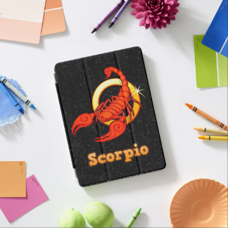 Scorpio illustration iPad air cover