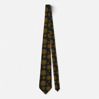 Scorpio Mandala Men's Neck Tie