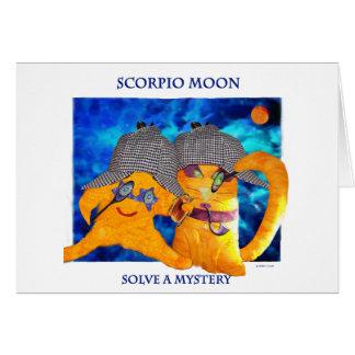 Scorpio Moon Card