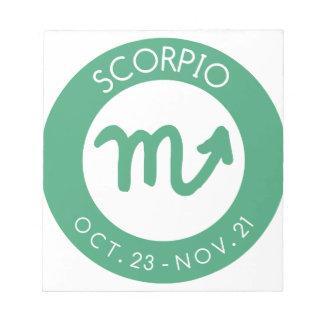 Scorpio Notepad