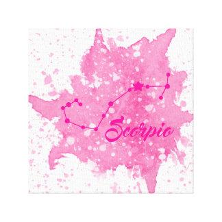 Scorpio Pink Wall Art