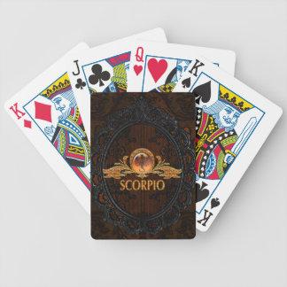 Scorpio Poker Deck