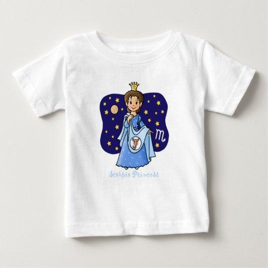 Scorpio Princess Baby T-Shirt