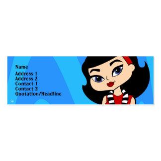 Scorpio Profile Card Mini Business Card