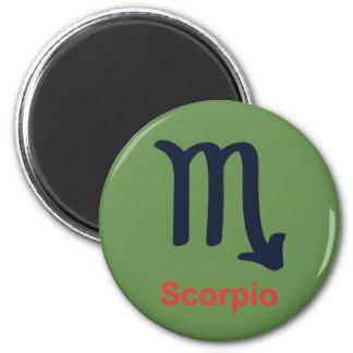Scorpio Refrigerator Magnet