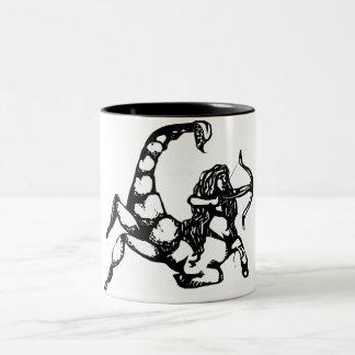 "Scorpio & Sagittarius ""Cusper"" Two-Tone Coffee Mug"