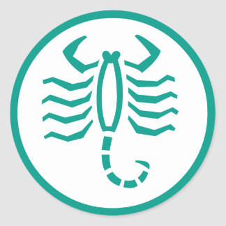 Scorpio Scorpion Horoscope Zodiac Sign Stickers