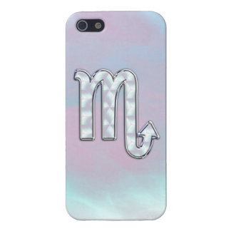 Scorpio Sign in Mother of Pearl Style iPhone 5 Case