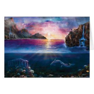 Scorpio Sunset Card