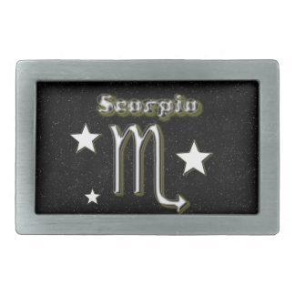 Scorpio symbol belt buckles