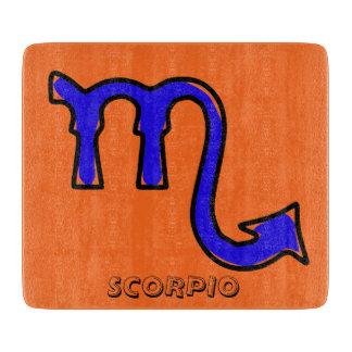 Scorpio symbol boards