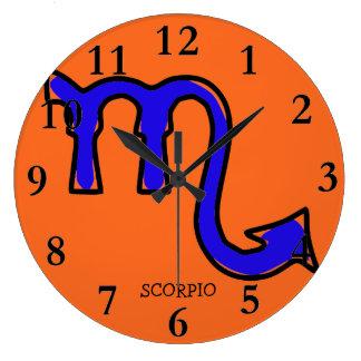 Scorpio symbol clocks