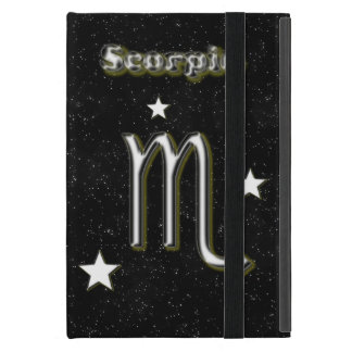 Scorpio symbol cover for iPad mini