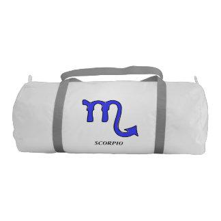 Scorpio symbol gym bag