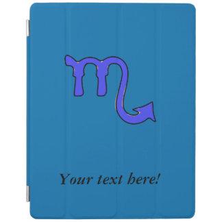 Scorpio symbol iPad cover