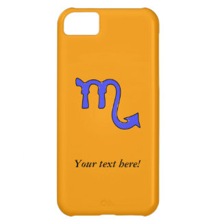Scorpio symbol iPhone 5C covers