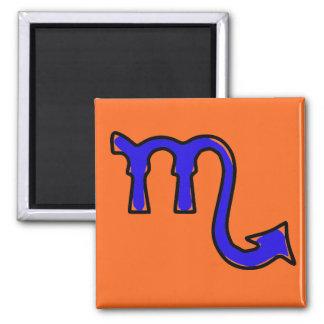 Scorpio symbol magnet