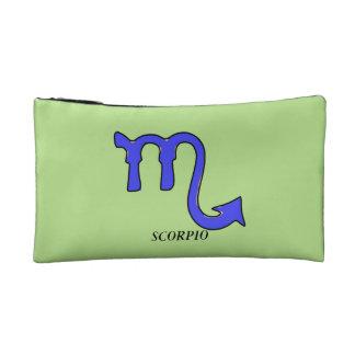 Scorpio symbol makeup bag
