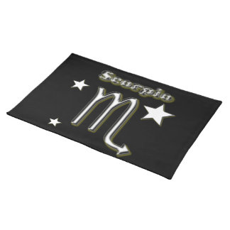 Scorpio symbol placemat