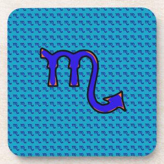 Scorpio symbol t coaster