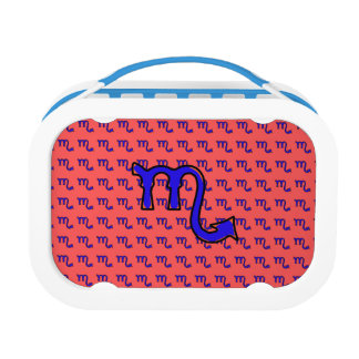 Scorpio symbol t lunch box
