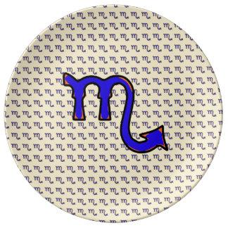 Scorpio symbol t plate
