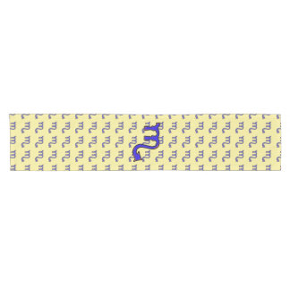 Scorpio symbol t short table runner