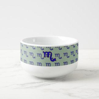 Scorpio symbol t soup mug