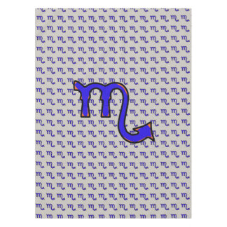 Scorpio symbol t tablecloth