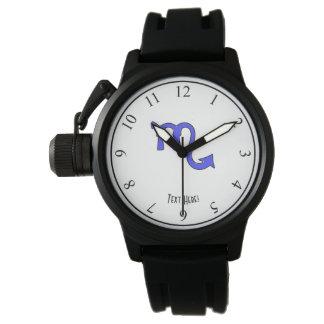 Scorpio symbol wrist watch