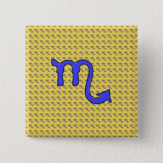 !Scorpio t 2 Inch Square Button