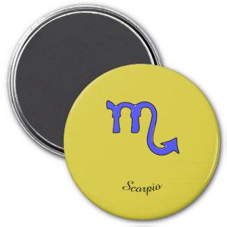 !Scorpio t 3 Inch Round Magnet