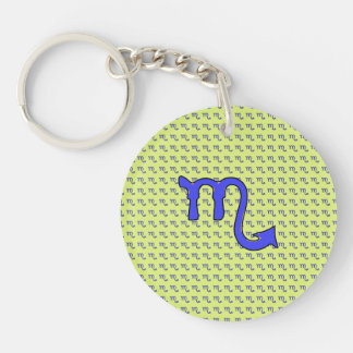 !Scorpio t Double-Sided Round Acrylic Keychain