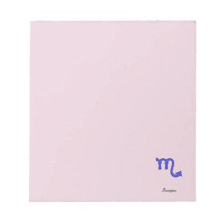 !Scorpio t Notepad