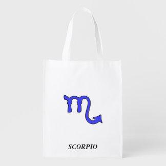 !Scorpio t Reusable Grocery Bag