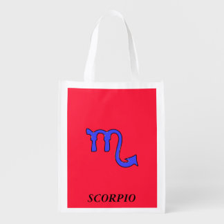 !Scorpio t Reusable Grocery Bag