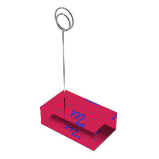 !Scorpio t Table Number Holder